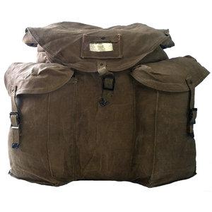 SGS Italian Surplus CANVAS Military Pack (40L)