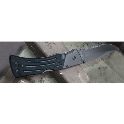 KA-Bar KA-BAR MULE G10 Folding Knife (Black Serrated) 3063