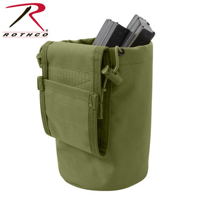 Rothco Rothco MOLLE Roll-Up Dump Pouch (OD)