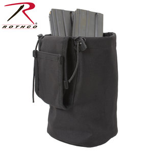Rothco Rothco MOLLE Roll-Up Dump Pouch (BLACK)