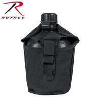 Rothco Rothco MOLLE Canteen Cover (Black) 40111