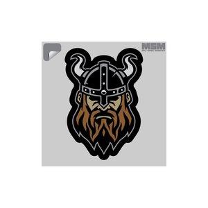 Milspec Monkey Viking Warrior #1 Decal (Full Color) Horns