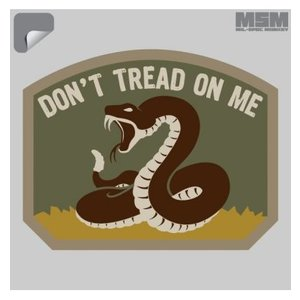 Milspec Monkey Don't Tread On Me Decal (Multicam)