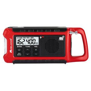 Midland Midland E-Ready Emergency Radio (Red) ER210
