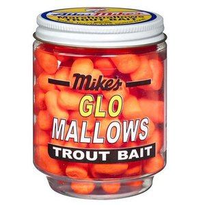 Atlas-Mike's Atlas-Mike's Marshmallows TROUT Bait (Orange Garlic) #5001