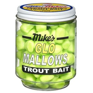 Atlas-Mike's Atlas-Mike's Marshmallows TROUT Bait (CHARTREUSE Cheese) #5010