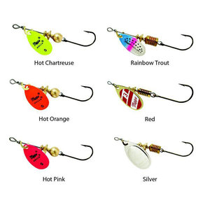 Aglia Mepps Aglia Lure & Hook HOT PINK #1 (1/8oz) B1SS