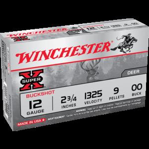 "Winchester Winchester Super-X 12 Gauge 2-3/4"" OO Buck (XB1200)"