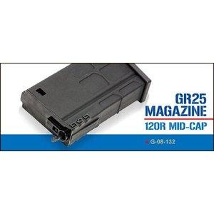 G&G Airsoft G&G GR25 120 Rd. Mid-Cap Magazine (Plastic)