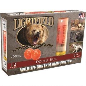 Lightfield 12 GA Wildlife Control (Rubber Double Bal) 5 Shells