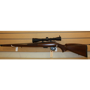 Consignment CZ 455FS Full Wood Rifle (w/ LEUPOLD, .22 & .17 Barrels)