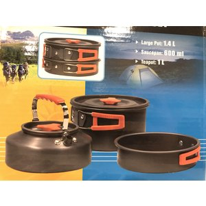 North 49 North 49 Hiker 6 Piece Cook Set (204)