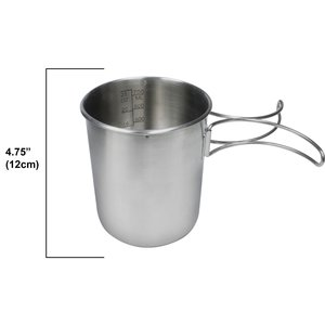 World Famous North 49 Stainless Steel Pot-Cup (#693)
