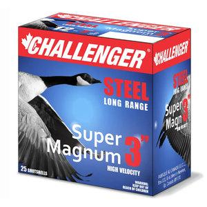 """Challenger Challenger 12 Gauge 3"""" BB Super Magnum Hi-Velocity (1 1/8oz) 25 Shells"""