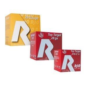"""Rio RIO .410 GA (2.5"""" / 9 Shot / Half oz) Top Target (25 Shells)"""