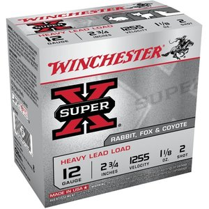 "Winchester Winchester Super-X 12 Gauge 2-3/4"" Heavy Load (W12H2)"