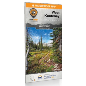 Backroad Maps Backroads MAP (West Kootenay) Waterproof