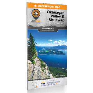 Backroad Maps Backroads MAP (Okanagan Valley) Waterproof