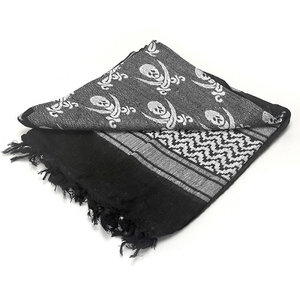Condor Outdoor Condor Shemagh Black &White (Skull & Crossbones) Pirate