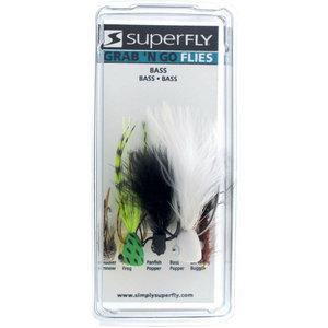 Super Fly Grab N Go BASS FLIES (5 Pack)