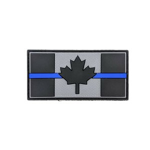 "Tactical Innovations Canada Thin Blue Line Patch (PVC) 1.5"" x 3"""