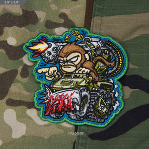 Milspec Monkey War Machine Monkey 1 Patch (Full Color)