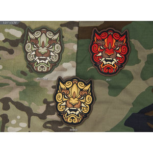 Milspec Monkey Foo Dog Head 1 PVC Patch