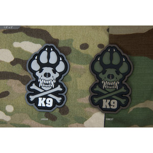 "Milspec Monkey K9 3"" PVC Patch"