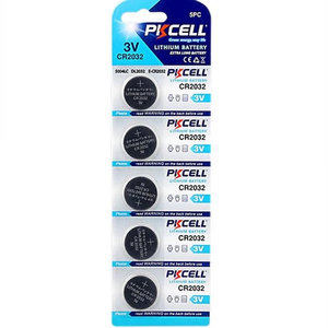 Pik Cell Pik Cell CR2032 5 PACK (Lithium)