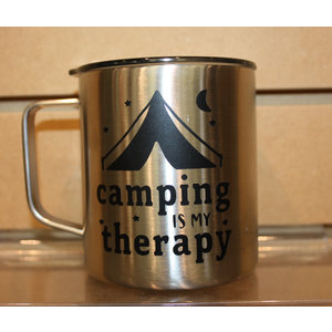 Consignment Camping is my Therapy Mug (SS)- Imperfect Creations