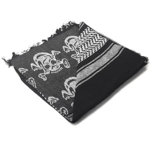 Condor Outdoor Condor Shemagh BLACK (Big Skull & Crossbones) Pirate (201-S001)