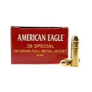 Federal Federal 38 Special (FMJ 130 Gr) AE38K