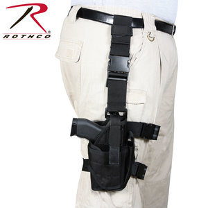 Rothco Rothco Drop Leg Holster (Black) 10752