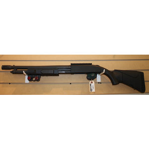 Consignment Mossberg 500 Flex with/ Rail, Collaspible Stock and shel holder foreend