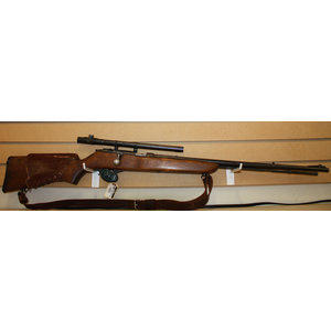 Marlin Marlin Mode 81 .22 Rifle (w/ Scope, Sling, Leather Rest)
