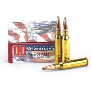Hornady Hornady American Whitetail 7mm-08 Rem (139 Gr) #8057
