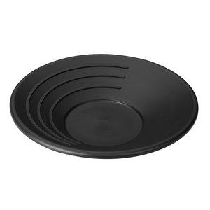 "Stansport Stansport 17"" Gold Pan (Black Plastic) 608"