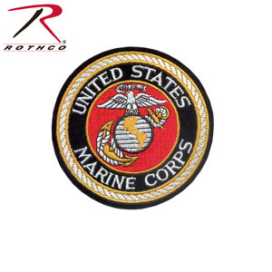 "Rothco US Marine Corps Round Patch (4"") Sew On"