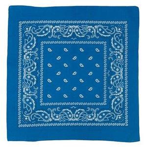 Misty Mountain Cobalt Blue Paisley Bandana (672)