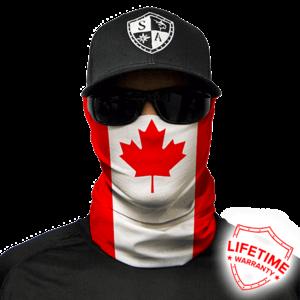 SA SA Face Shield Wrap (Canada Flag)