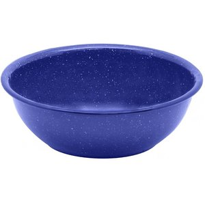World Famous World Famous Blue Enamel High Bowl (#714)