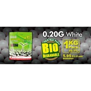G&G Airsoft G&G 0.20 Gram Bio Airsoft BBs (5000 Ct)