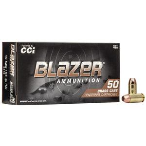 Blazer/CCI Blazer Brass 40 S&W 165 Grain FMJ (#5290)