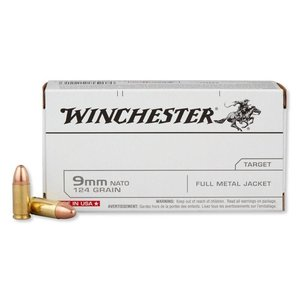 Winchester Winchester 9MM 124 Grain FMJ (#Q4318)