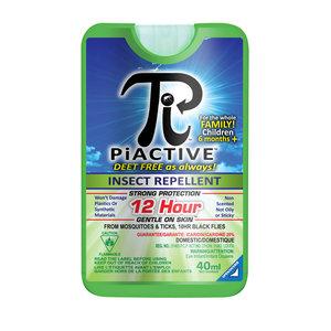 PiActive PiActive Insect Repellent (40ml - 12 Hour) DEET Free!