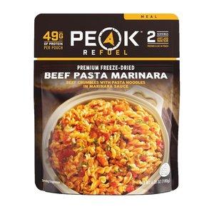 PEAK PEAK Beef Pasta Marinara Meal (Freeze Dried) 180 G