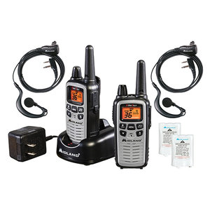 Midland Midland X-Talker VALUE Pack (2 Radios, Headsets, Charger) LXT600VP4