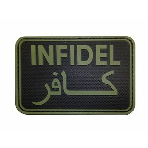 Tactical Innovations Infidel PVC Patch (OD)