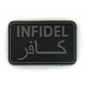 Tactical Innovations Infidel PVC Patch (Grey URBAN)
