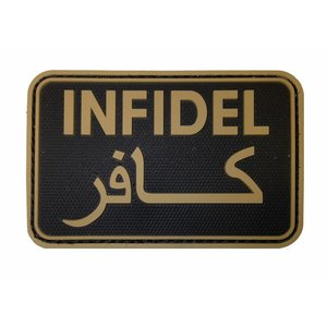 Tactical Innovations Infidel PVC Patch (TAN)